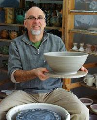 Dan Hill, Potter, Hill Pottery, Wilno, Ontario, Canada