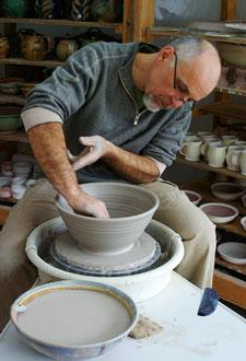 Dan Hill, Hill Pottery, Wilno, Ontario, Canada